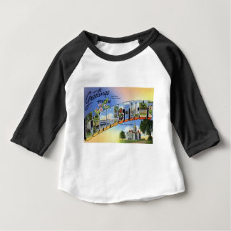 Greetings From Connecticut Baby T-Shirt
