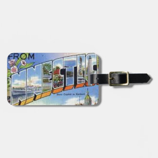 Greetings From Connecticut Luggage Tag