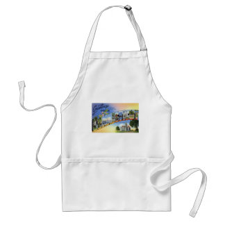 Greetings From Connecticut Standard Apron