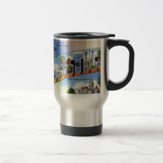 Greetings From Connecticut Travel Mug