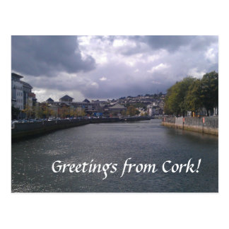 Greetings from Cork Postcard