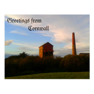 Greetings from Cornwall Postcard