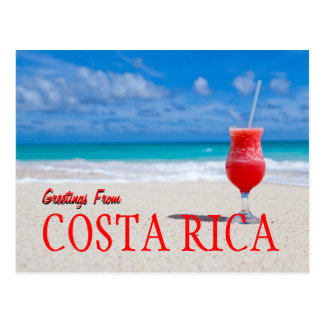 Greetings From Costa Rica Postcard