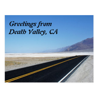 Greetings from Death Valley, CA Postcard