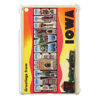 Greetings From Estherville, Iowa Letter Postcard iPad Mini Cover