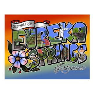 Greetings from Eureka Springs Postcard