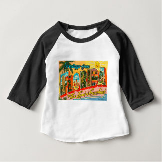 Greetings From Florida Baby T-Shirt