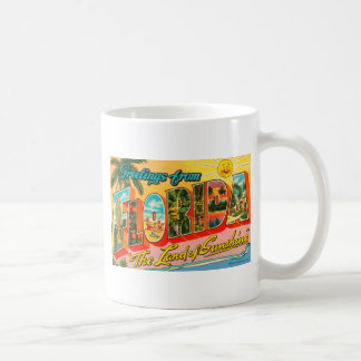 Greetings From Florida Coffee Mug
