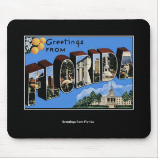 Greetings from Florida Mouse Pad