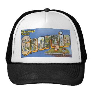 Greetings From Georgia, Vintage Trucker Hat