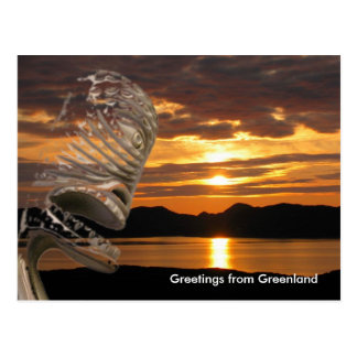 Greetings from Greenland 20 Postcard