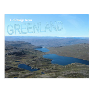 Greetings from Greenland 7 Postcard