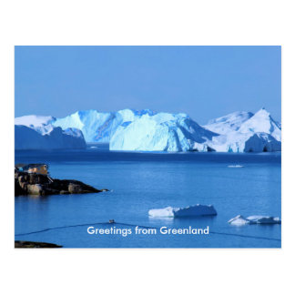 Greetings from Greenland 9 Postcard