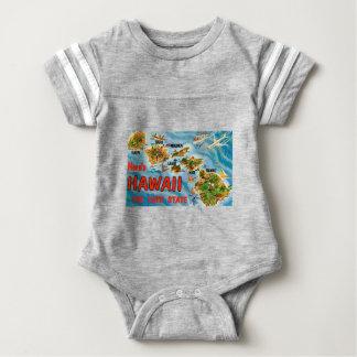 Greetings From Hawaii Baby Bodysuit