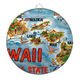 Greetings From Hawaii Dartboard