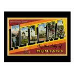 Greetings from Helena Montana Postcard