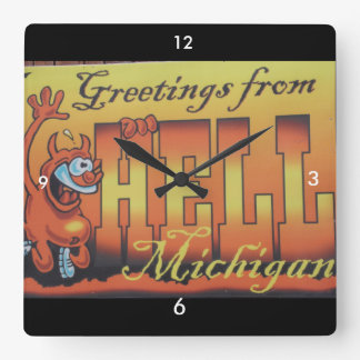 Greetings From Hell, Michigan Clock 1