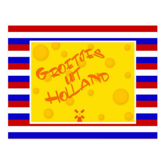 Greetings from Holland Postcard