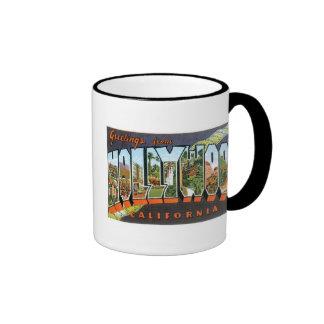 Greetings from Hollywood! Ringer Mug