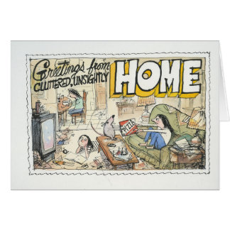 Greetings from Home Card