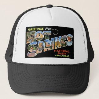 Greetings from Hot Springs, Arkansas Trucker Hat