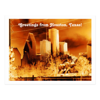 Greetings from Houston,Texas! Postcards
