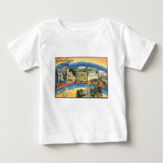 Greetings from Idaho Baby T-Shirt