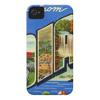 Greetings From Indiana iPhone 4 Case