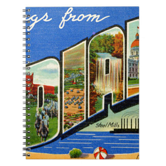 Greetings From Indiana Notebook