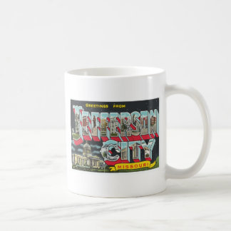 Greetings From Jefferson City Missouri, Vintage Mugs