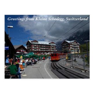 Greetings from Kleine Schedegg 1 Postcard