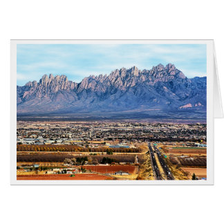 Greetings from Las Cruces, New Mexico Note Card