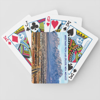 Greetings from Las Cruces,New Mexico Playing Cards