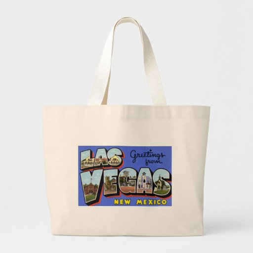 Greetings from Las Vegas New Mexico Tote Bag
