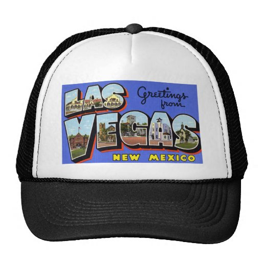 Greetings from Las Vegas New Mexico Hat