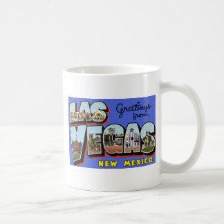 Greetings from Las Vegas New Mexico Coffee Mugs
