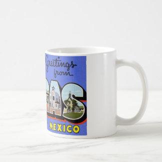 Greetings from Las Vegas New Mexico Mugs