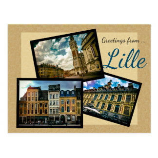Greetings from Lille Postcard