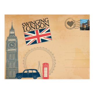 Greetings from London, United Kingdom Postcard