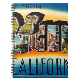 Greetings From Los Angeles Notebooks