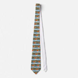 Greetings From Los Angeles Tie