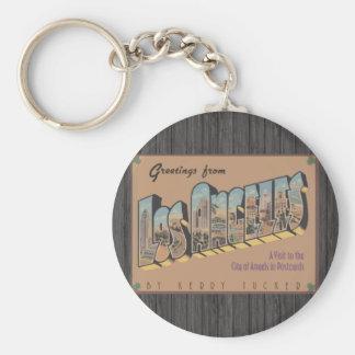 Greetings From Los Angeles, Vintage Key Ring