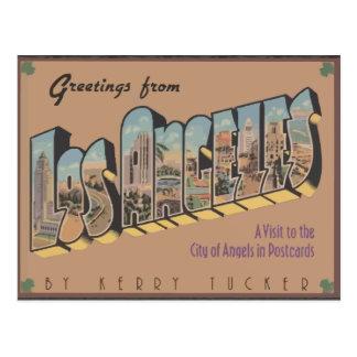 Greetings From Los Angeles, Vintage Postcard