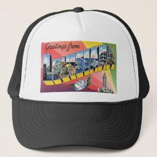 Greetings From Louisiana Trucker Hat
