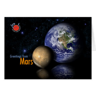 Greetings from Mars Card