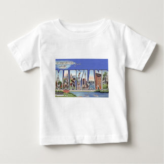 Greetings From Maryland Baby T-Shirt