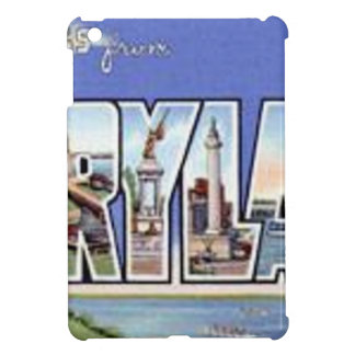 Greetings From Maryland iPad Mini Covers