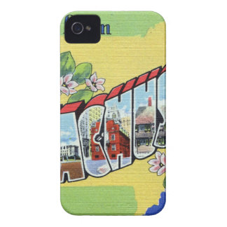 Greetings From Massachusetts iPhone 4 Case