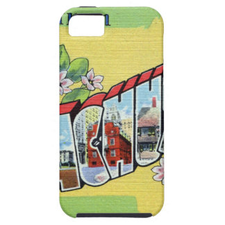 Greetings From Massachusetts iPhone 5 Cases
