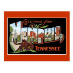 Greetings from Memphis, Tennessee Post Cards